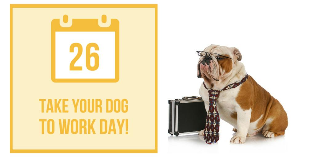 Take Your Dog To Work Day Pedigree Foundation