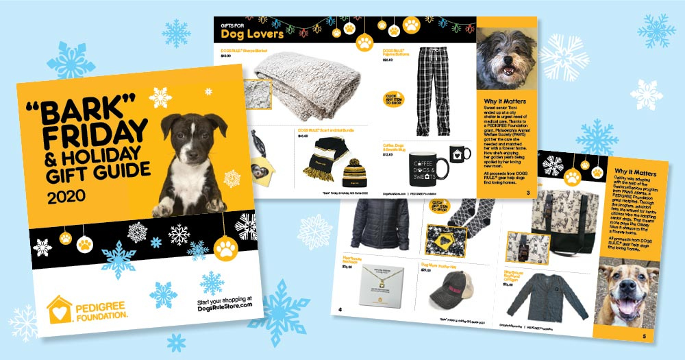pictures of holiday gift guide for dog lovers
