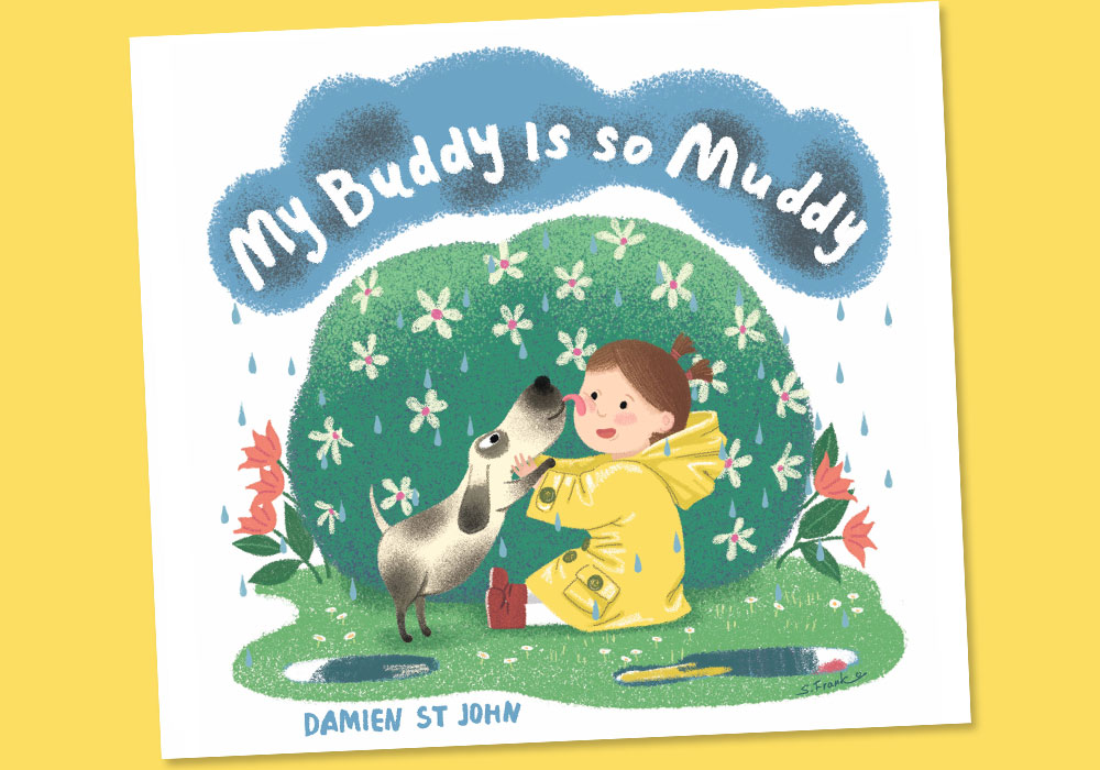 """Cover of """"My Buddy is So Muddy"""" book"""